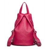 rose Leather backpack for women