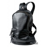 Leather backpacks purse