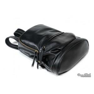 PU leather book bag