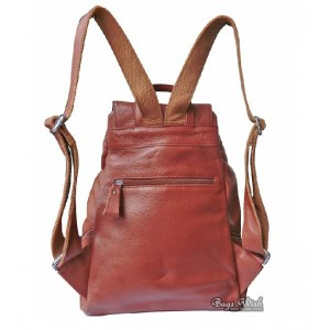 leather bookbag