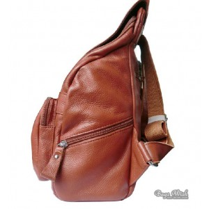 leather backpack women
