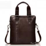 Leather bag for men brown, black ipad leather bag vintage