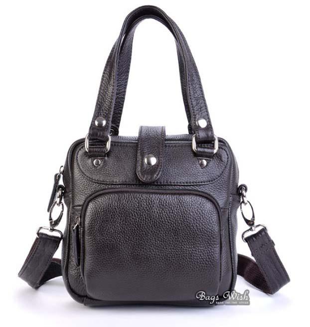 Brown Messenger School Bag