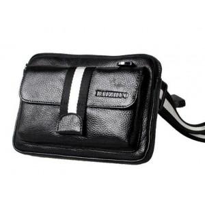 black waist bag fanny pack