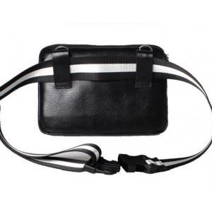 cowhide waist bag fanny pack