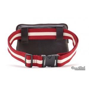 brown waist bag fanny pack