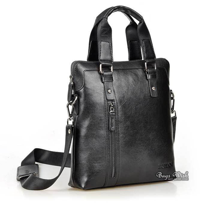 Leather bag for men brown, black ipad leather bag vintage - BagsWish