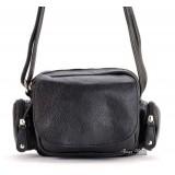Black leather messenger bag, best leather messenger bag