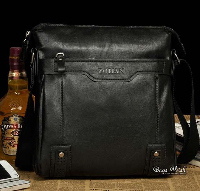 Ipad crossbody messenger bag, latest leather bag - BagsWish