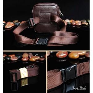 mens small leather shoulder bag