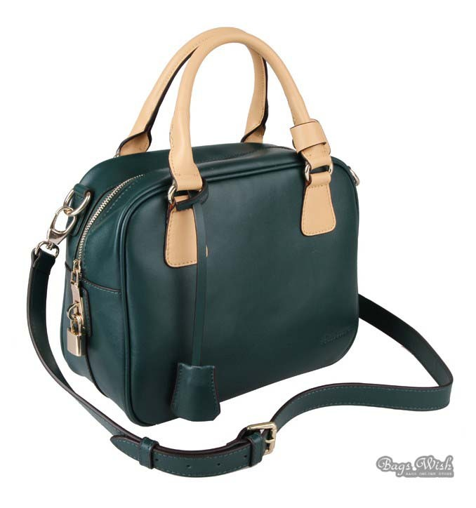 Genuine leather handbag, cute messenger bag - BagsWish