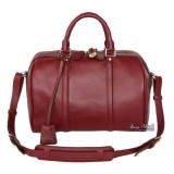 red messenger bag for women