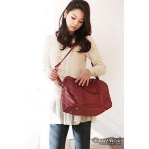 ladies leather messenger bag