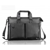 Cowhide laptop bag briefcase black, 14 inch laptop bag coffee
