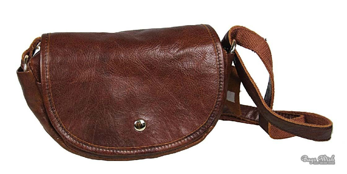 Cheap leather messenger bag, coffee cool messenger bag - BagsWish