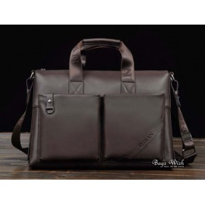 14 inch laptop bag coffee