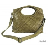 Leather messenger bag women green, grey leather satchel messenger bag