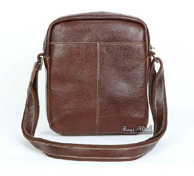 Distressed leather messenger bag men, brown leather messenger bag ...
