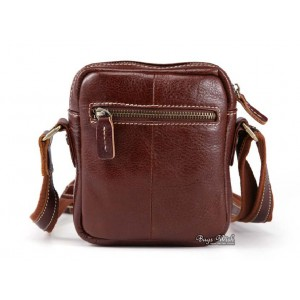 cowhide Leather bag messenger