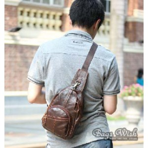 coffee single strap back pack