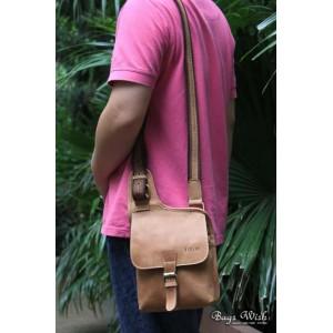 mens Messenger bag khaki