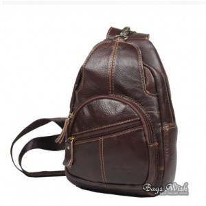 mens coffee single strap back pack
