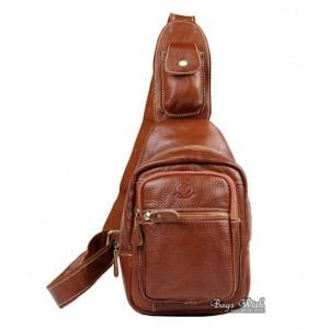 Single strap pack, black side strap backpack