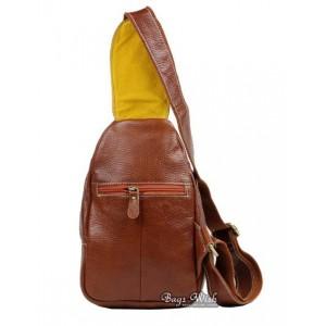 brown Single strap pack