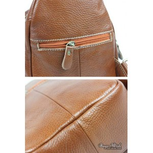 leather Single strap pack