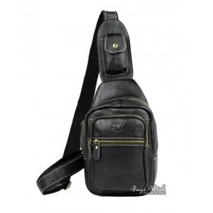 black Single strap pack