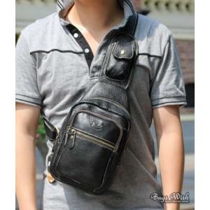 black side strap backpack