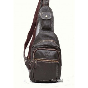 coffee side strap backpack