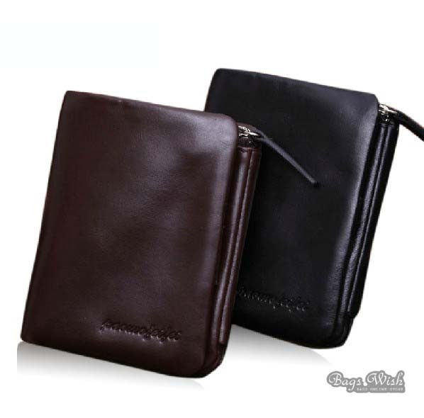 ff74aa854d77 Leather wallet mens coffee, black mens trifold leather wallet - BagsWish