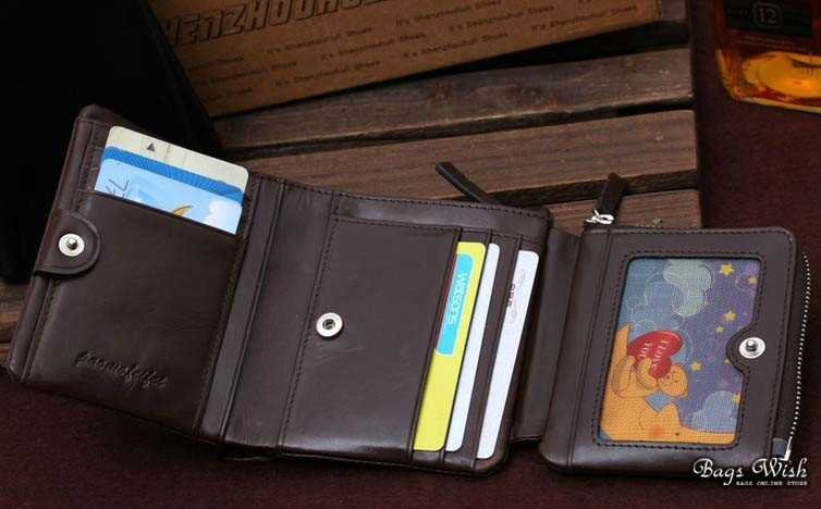 Black Leather Wallet For Men Leather Wallet Mens Coffee