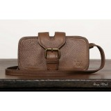 Leather messenger bag for women, coffee leather men messenger bag