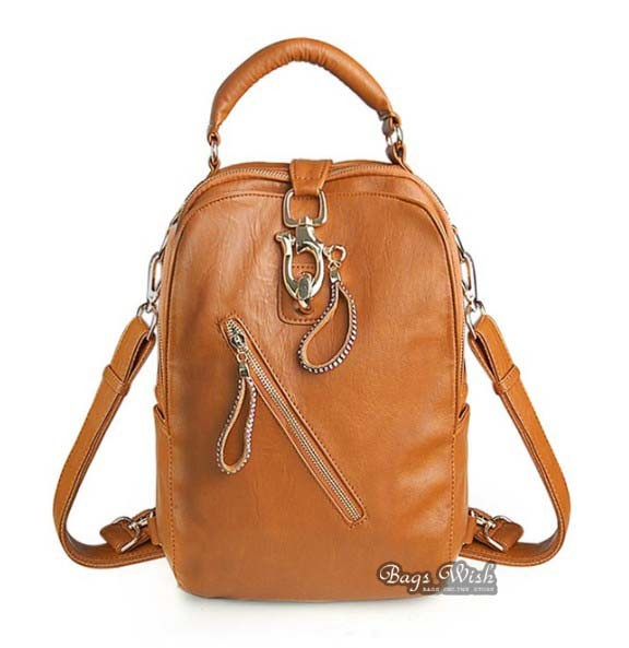 Western leather backpack, purse backpack leather - BagsWish