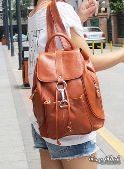 Leather Backpack Satchel Leather Back Pack Purse Bagswish
