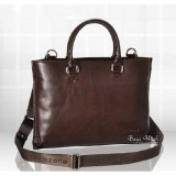 13 leather laptop bag, coffee leather messenger briefcase
