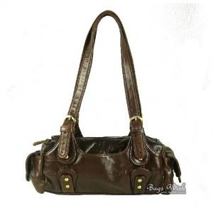 Soft leather handbag black, coffee tote leather handbag