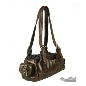 tote leather handbag