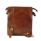 Messenger bag for travel coffee, brown leather mens bag
