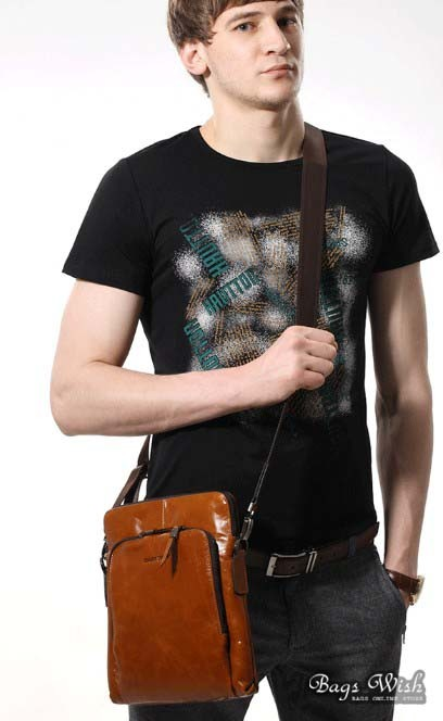 Leather messanger bag black, brown leather vertical messenger bag ...