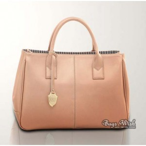 pink Commuting leather bag