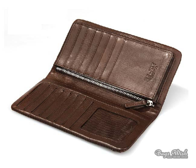 Soft Leather Wallets For Men Coffee Wallet Purse Bagswish