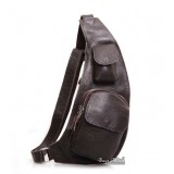 One strap backpack black, coffee day backpack