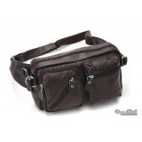 Mens leather fanny pack