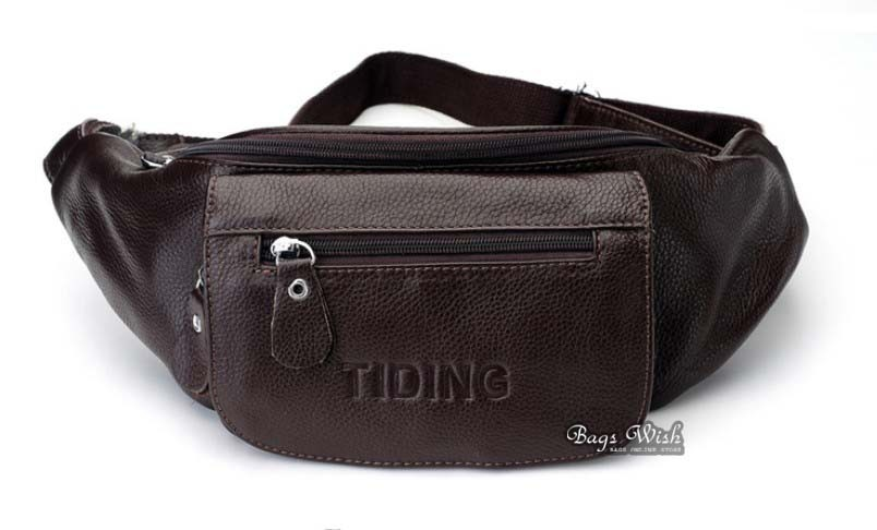 ... waist pack  leather Mens fanny pack ... 79362250d0179