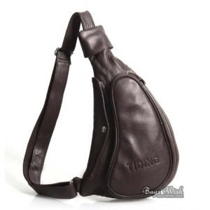 One strap backpack for school coffee