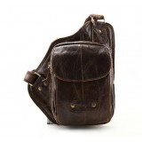 One strap bag, coffee backpack one shoulder strap