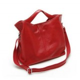 Hobo handbag, leather cross body bag